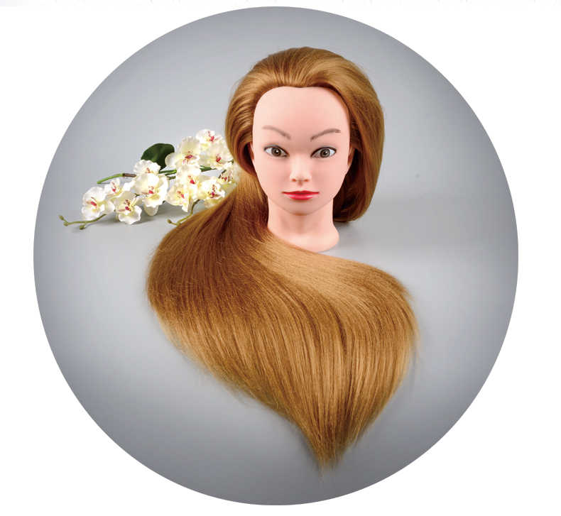 2018 Hair Styling Mannequin Head Dummy Mannequin Hairdresser Mannequin Head Professional Styling Wig Head