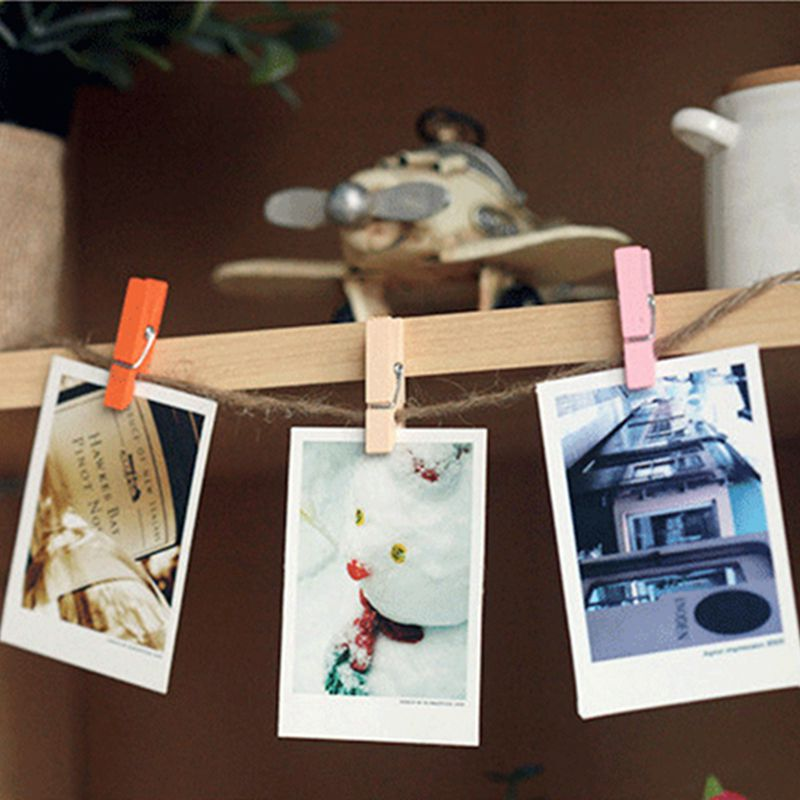 Free shipping multicolor 25mm wholesale of high quality wood clamp die cutting Angle 240pcs 0170050011 in Party DIY Decorations from Home Garden