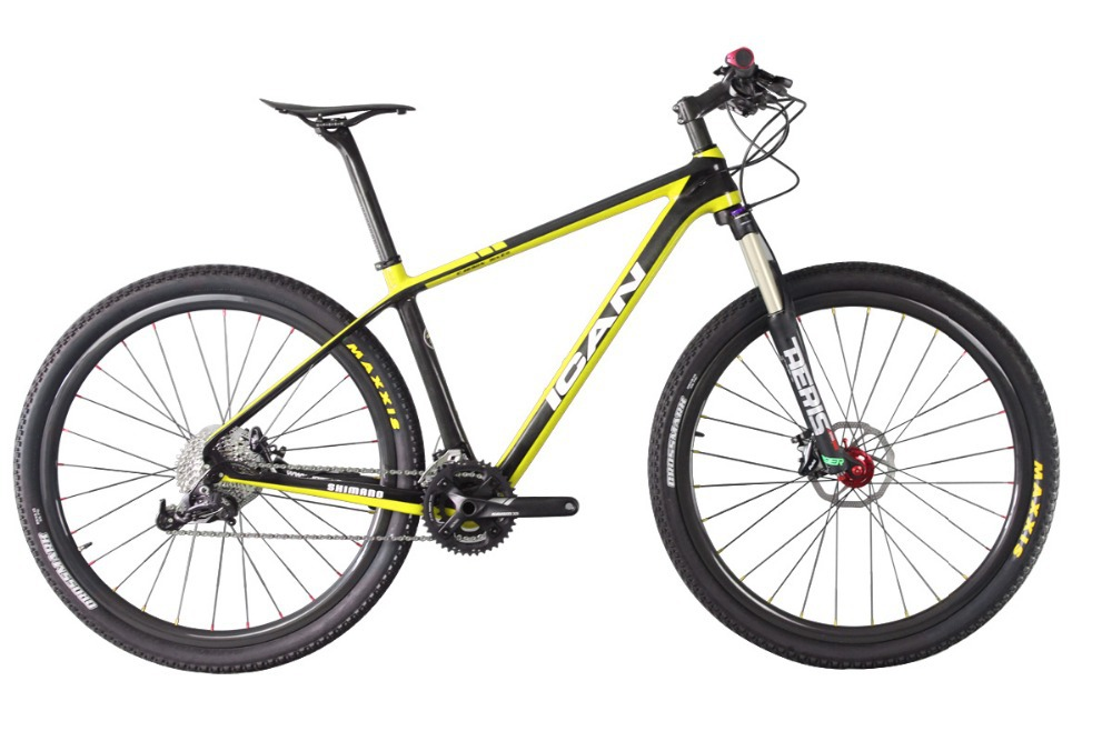 2015 ican 29er carbon mountain bike con Sram X5 mtb groupset del marco del carbó