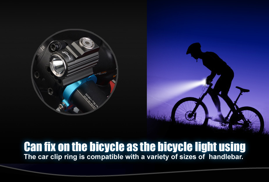 Trustfire TR-D017 450 lumens CREE XM - L2 Bike Bicycle Light LED Light Flashlight + special Aluminum alloy mount trustfire tr d017 usb bike light 2000 lumens 3 mode xm l l2 led bicycle front light with battery pack for cycling