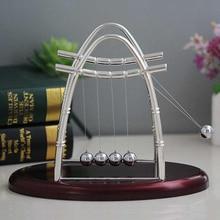 Home Decor Pendulum Newton Cradle Balance Ball Tumbler Desk