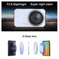 "1080P Full HD 3"" Dual Lens Car DVR Accident Camera Video Driving Recorder Night Vision"