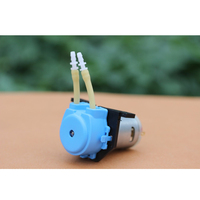 High Quality DC 12v D4 Lab Dosing Pump Peristaltic Head Chemical Water Liquid 19~100ml/min