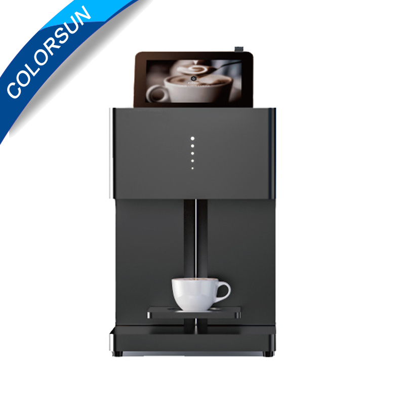 DIY design art design beverage biscuit cream cake cookies food chocolate coffee printer/ latte printer with tablet