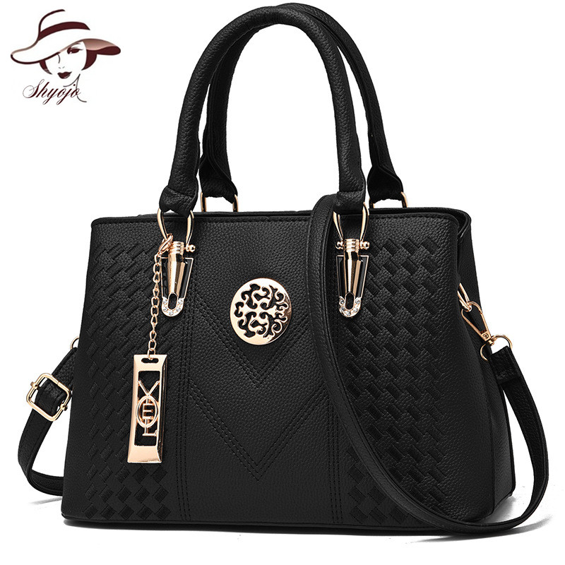 Luxury Women Messenger Bag Fashion Crossbody Handbag Female PU Leather Shoulder Bags Brand Solid Ladies Casual Tote Sac A Main esufeir brand genuine leather women handbag cow leather patchwork shoulder bag fashion women messenger bag tote bags sac a main