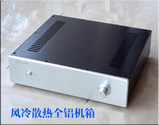 BZ3609 Full aluminum power amplifier enclosure chassis/AMP box 360*308*92mm