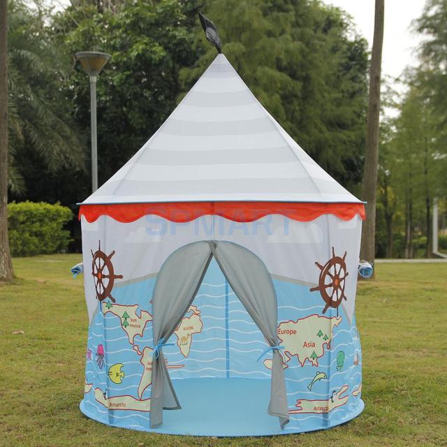 Pop Up Pirata Castello Gioca Tenda Casetta Per Bambini Bambini