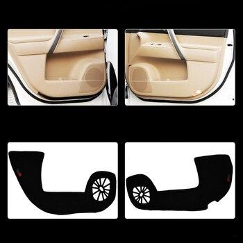 4 Piezas De Tela Puerta Esteras De Protección Anti-kick De Almohadillas Para Toyota Highlander 2012