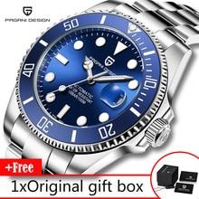 PAGANI Design ยี่ห้อผู้ชายนาฬิกาหรูผู้ชายนาฬิกาอัตโนมัติธุรกิจสแตนเลสกันน้ำนาฬิกา reloj hombre