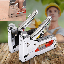 3 In 1 Heavy Duty Multitool Nail Staple Gun Furniture Stapler For Wood Door Upholstery Framing Rivet Gun Kit Nailers Rivet Tool цены