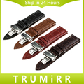 Calf Genuine Leather Strap 1st Layer for Tissot T035 T050 PRC 200 T055 T097 T099 Watch Band Bracelet 16mm 18mm 20mm 22mm 24mm