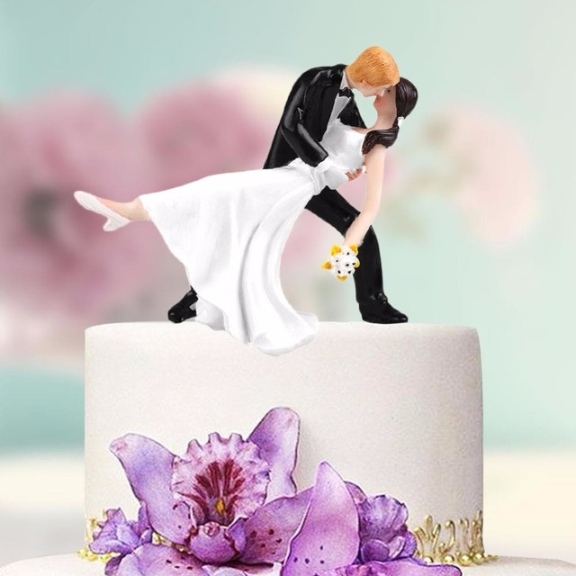 Personalized Bride Groom Dancing Couple Wedding Cake Topper Party Decoration Figurine Craft Gift 12 Types