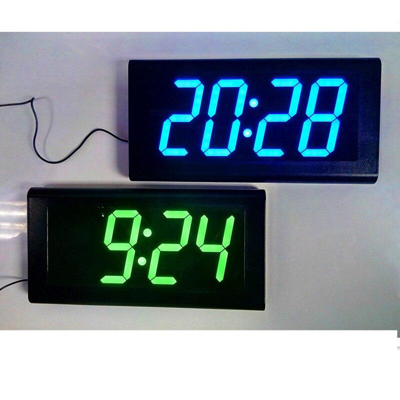 Achetez en Gros vert numérique led horloge murale en Ligne ...