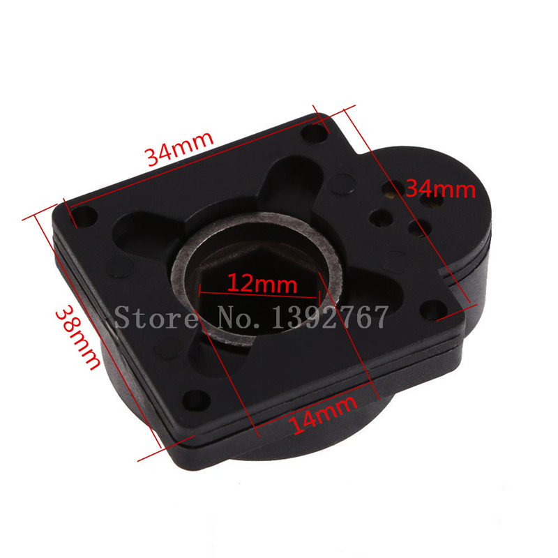 Electric Power Starter Drill Plate Cover For HSP RC Car Parts H12 VERTEX CXP SH