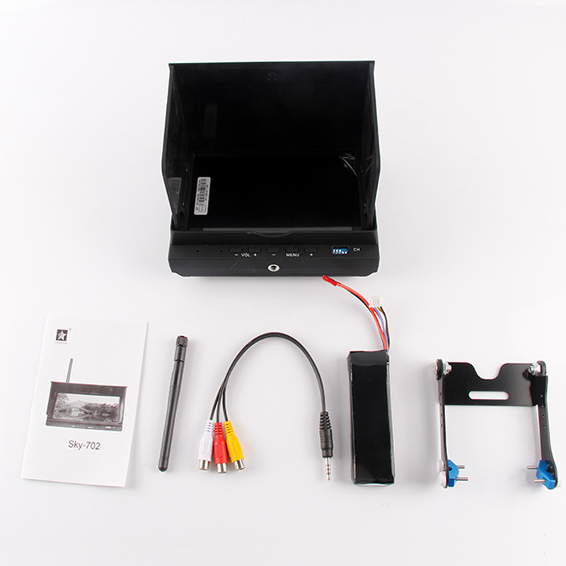 Cheerson CX-20 CX20 RC Quadcopter Parts FPV LCD monitor + Battery cx 20 cx20 spare parts remote controller transmitter for cheerson rc cx 20 quadcopter spares wholesale free shipping shuang he