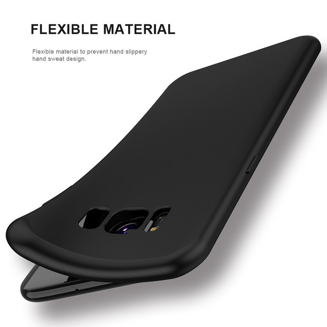 KISSCASE Case For Samsung Galaxy S9 S9 Plus Luxury Ultra Thin Smooth Soft TPU Cover For Samsung S8 S8 plus S6 S7 edge S9 Cases 1