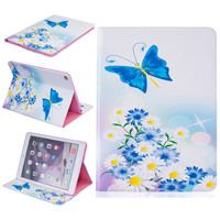 For Ipad 6 Ipad Air 2 Case Luxury Colorful Wallet Flip Wallet Silicone Cute Leather Case