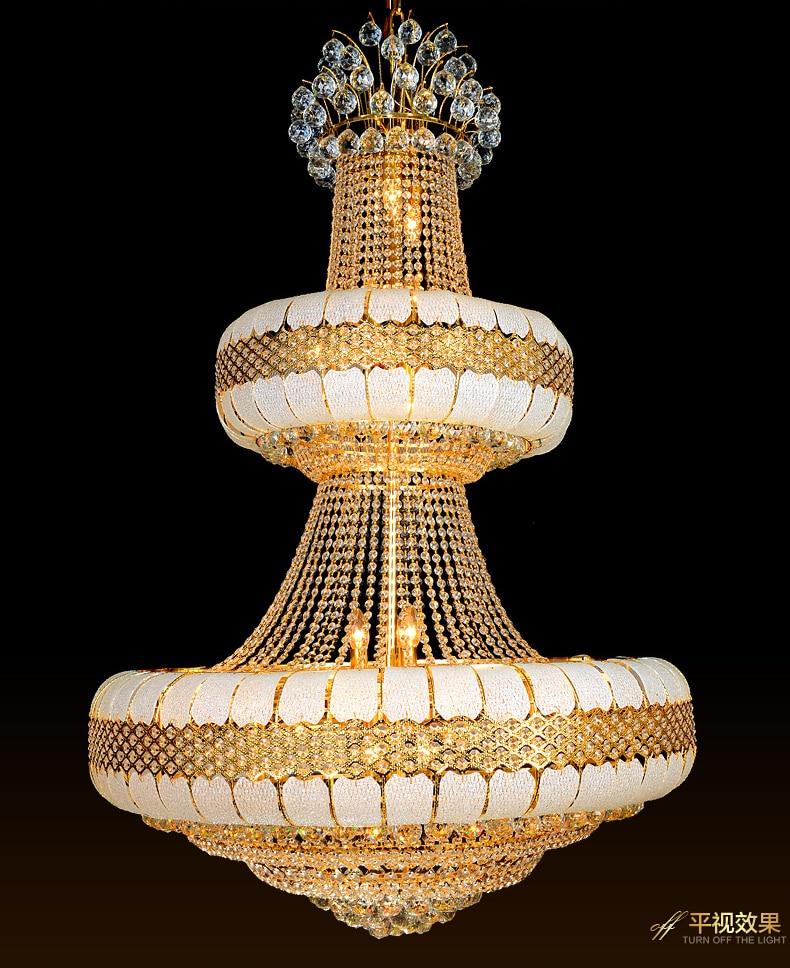 Candelabre cu cristale LED Lumini de cristal Lumini de aur de - Iluminatul interior - Fotografie 6