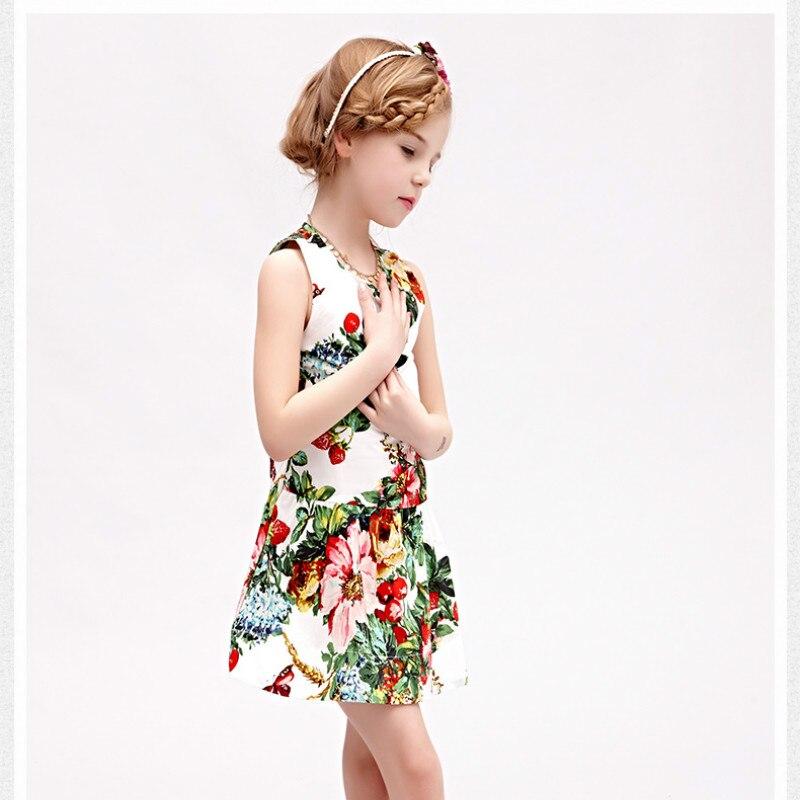 5545de41d 2016 New Arrived Summer Girl Dress Flower Kids Dresses For Girls ...
