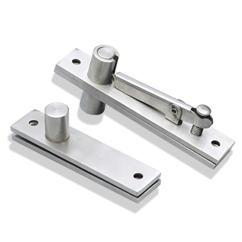 304 Stainless Steel Invisible Door Heaven and Earth Hinge Hidden Upper and Lower Hinge Furniture Hardware 360 Degree Hinge304 Stainless Steel Invisible Door Heaven and Earth Hinge Hidden Upper and Lower Hinge Furniture Hardware 360 Degree Hinge