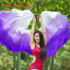Dancer S Vitality New Brand Cheap Gradient Color Belly Dance Veils 260 114cm Hand Throw Scarf