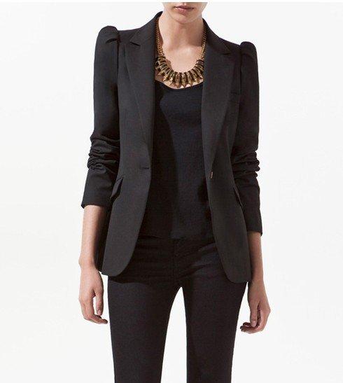 hot slae fashion band suit jacket women coat stylish short blazer ...