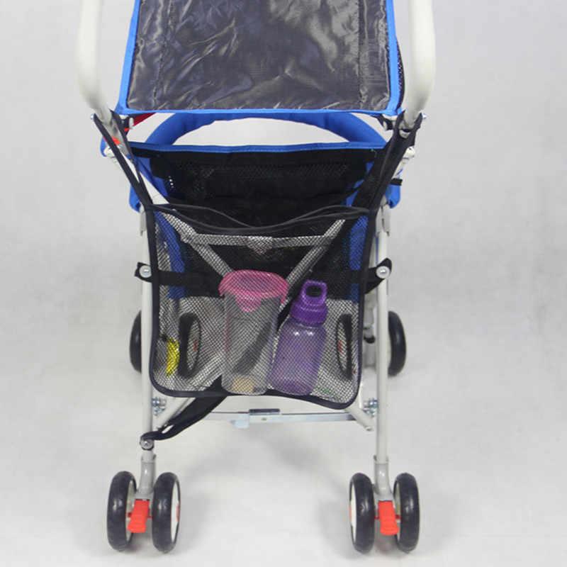 แฟชั่นเด็กรถเข็นเด็ก Mummy ผ้าอ้อมเด็กตาข่ายกระเป๋าคลอดบุตรฉนวนกันความร้อนถุงนมขวดน้ำกระเป๋ารถเข็นเด็กอุปกรณ์เสริม