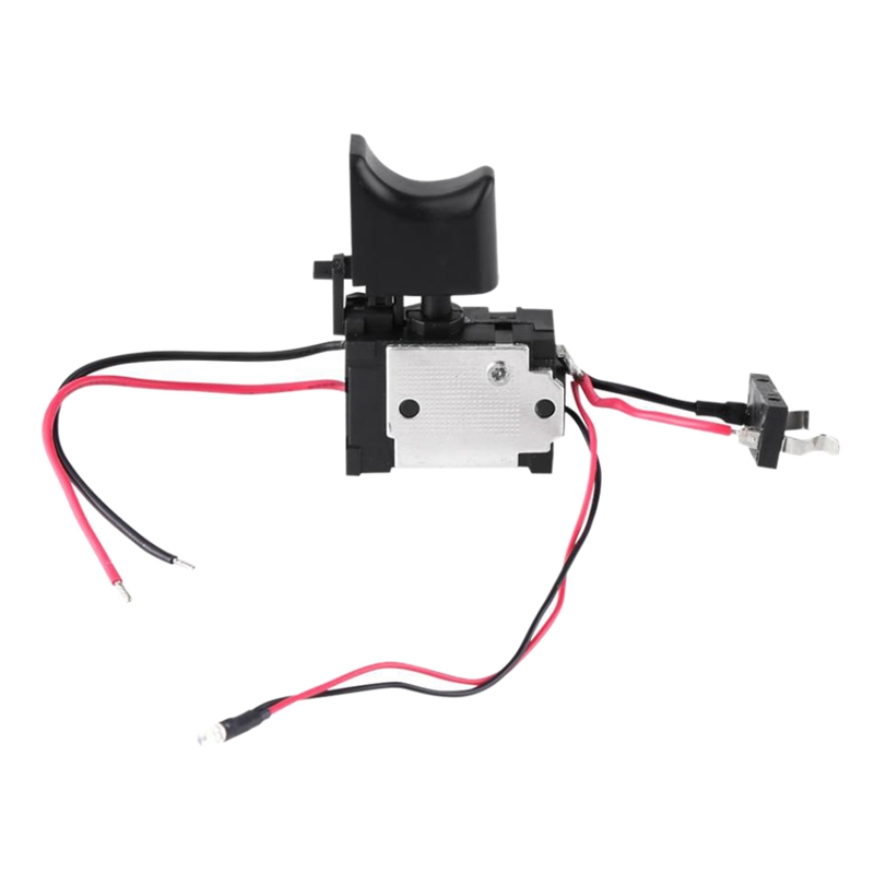 7.2 V - 24 V Lithium Battery Cordless Drill Switch Speed Control Trigger Switch With Small Light