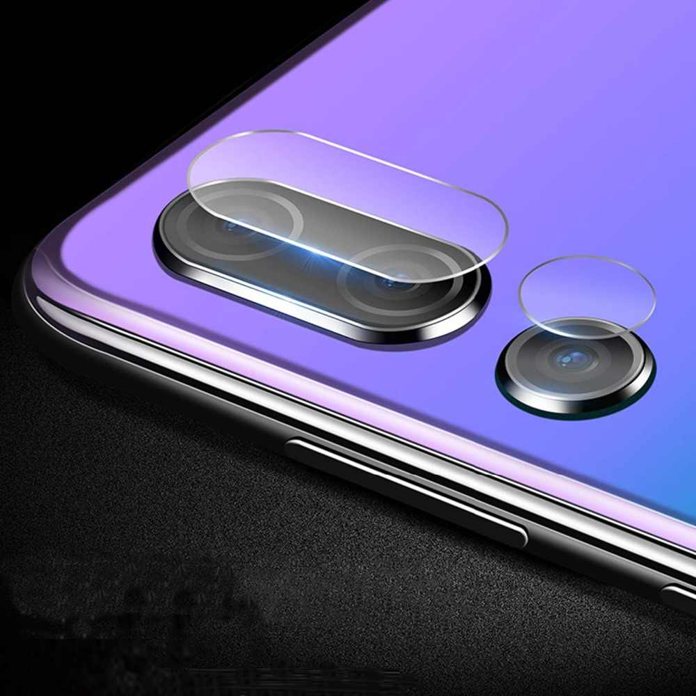 Untuk Huawei Kehormatan 10 9 8 Kehormatan 8X 8C 7X V20 V10 Bermain Lensa Kamera Anti Gores Tempered Glass Pelindung Layar untuk Huawei Nova 4 Magic 2