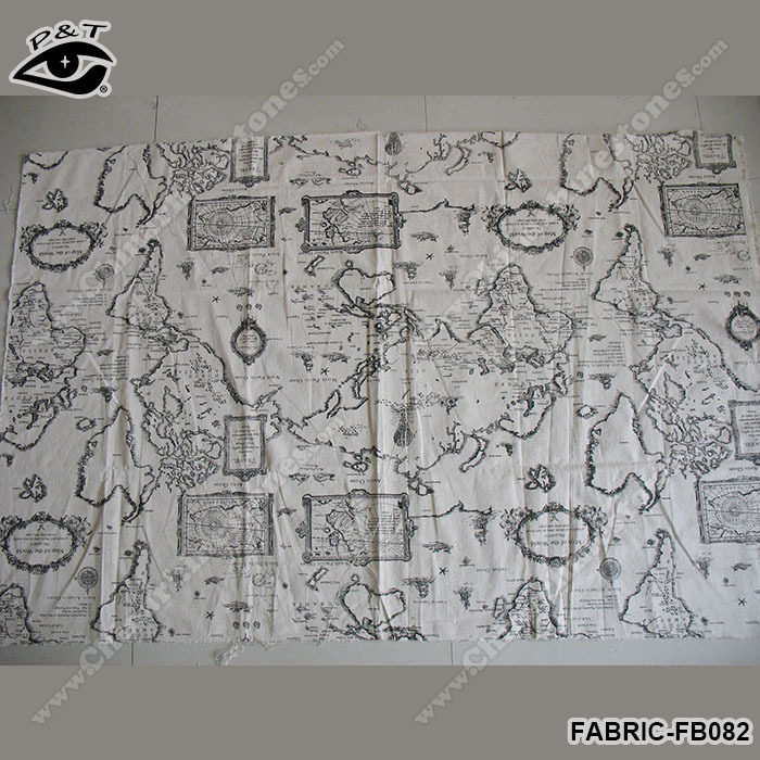 Aliexpress buy new world map fabric map pattern linen fabric fabric fb082 3g gumiabroncs Choice Image