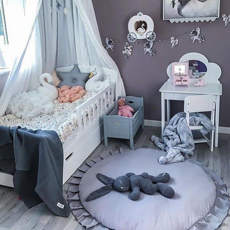 New Baby Game Mat Princess Lace Աղջիկներ Երեխաներ - Խաղալիքներ նորածինների համար - Լուսանկար 5