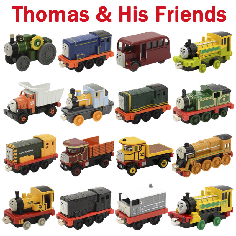 Diecast Metal Magnetic Thomas And Friends Trains Trackmaster Thomas Train Classic Toys For Children Learning Education
