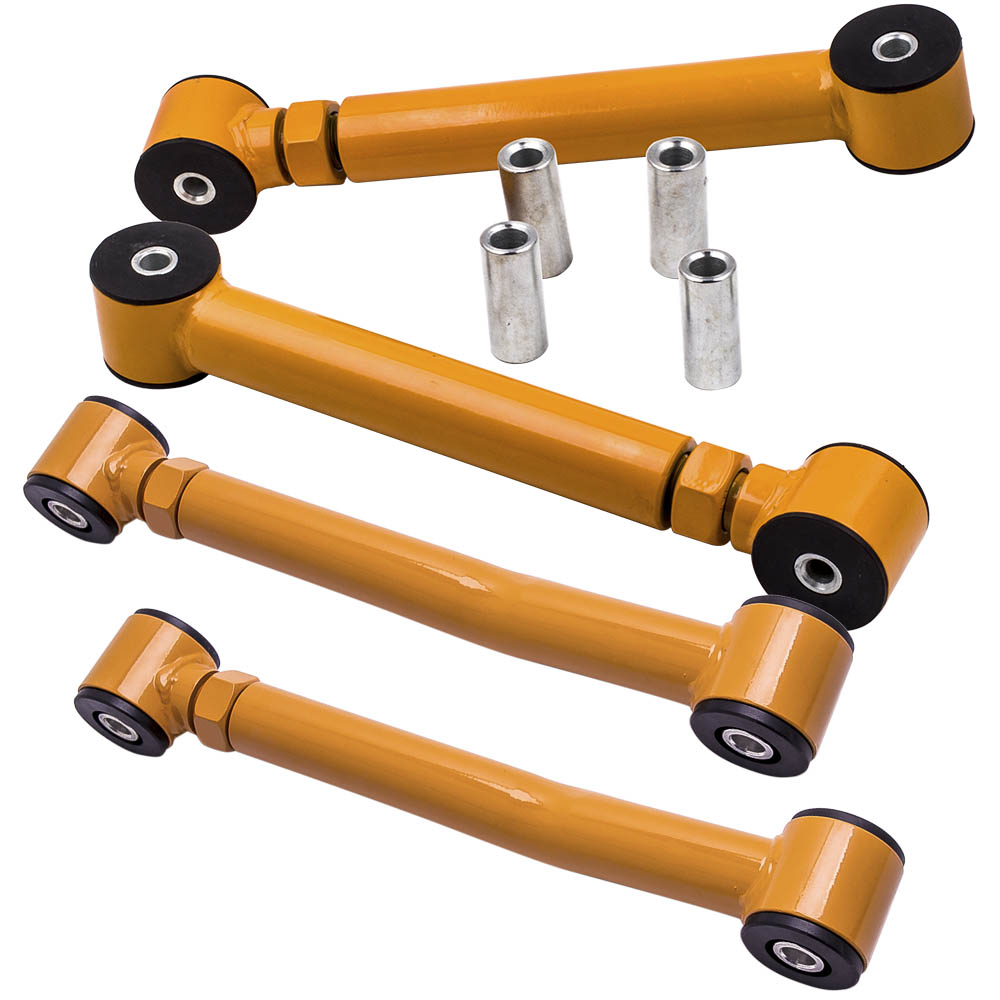 """Lower Front Control Arms Adjustable For 0-8/"""" Lifts For 97-06 Wrangler TJ Upper"""