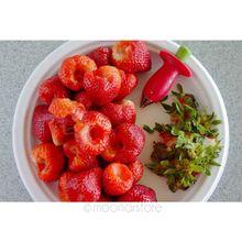 Kitchenware Tomato Stalks Fruit Strawberry Knife Stem Remover Strawberry Slicer Strawberry Huller Cutter цена