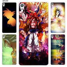 Dragon Ball Goku Case for Sony Xperia XA XA1 X XZ Z5 Z1 Z2 Z3 M4 Aqua M5 E4 E5 C4 C5 Compact Premium Hard Clear Phone Cover Bags(China)