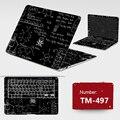 New! 2017 Ноутбук Наклейки DIY Личности ПВХ Шкуры Пыле ABC Стороны + Ключи + Клавиша Промежуток Наклейки Для Dell 14-7447 7000 Случае