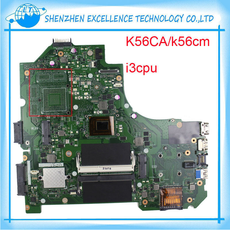For K56CA Asus laptop font b motherboard b font K56CM mainboard REV 2 0 PM onboard
