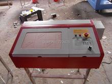 CO2 de Grabado Láser Máquina De Corte Impresora 220 V 40 W de Corte Por Láser de Grabado de Impresión Mini Máquina De Corte Láser con USB apoyo
