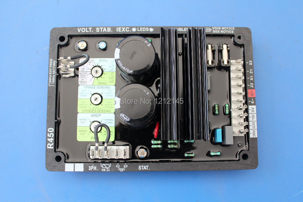 R450 AVR Pour Leroy Somer Alternateur, R450 Alternateur Régulateur de Tension