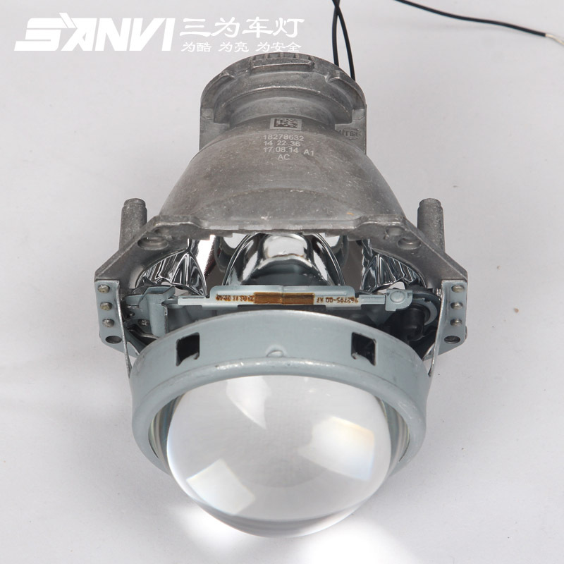 Auto lumières 3.0 pouces Hella projecteur projecteur lentille en aluminium voiture Hid phare modifier D2S réflecteur haut-bas faisceau