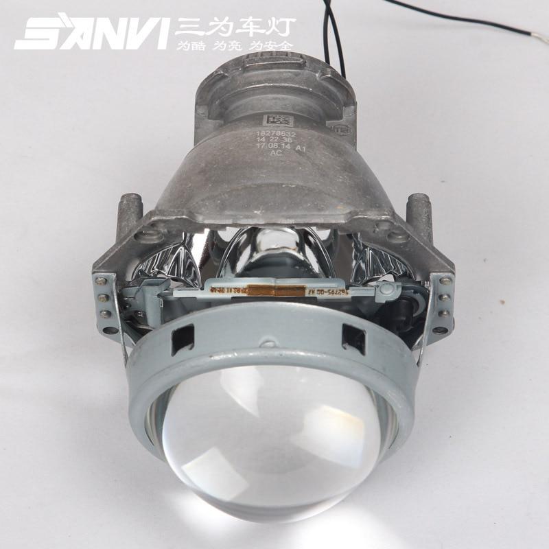 Auto Lumières 3.0 pouce Hella Projecteur Projecteur Lentille En Aluminium De Voiture Hid Phare Modifier D2S Réflecteur Haut bas Faisceau
