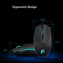 RGB Light Electronic Mice