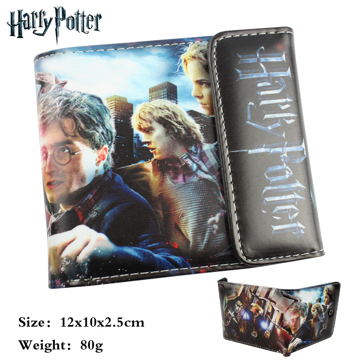Harry Potter wallet cartoon Purse for Young People mens women purse male female coin purses holders wallet купить