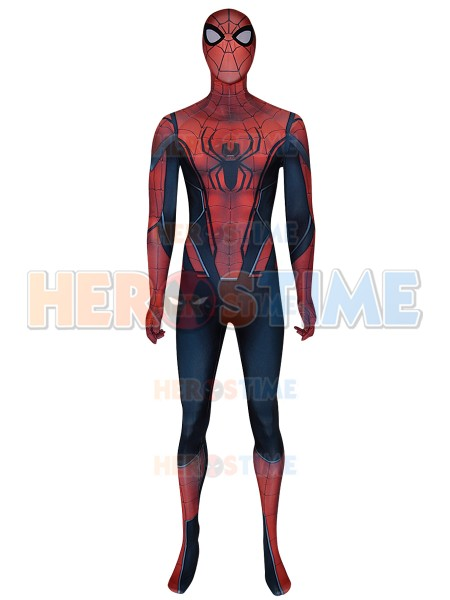 2019 Infinity War Concept Art Spiderman Cosplay Costume 3D Print Spandex Cosplay Spiderman Halloween Costume Hot Sale(China)