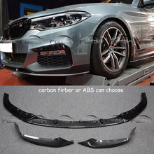 OLOTDI Автомобиль Стайлинг для BMW G30 G31 2 шт./компл. 2017 углеродного волокна/ABS MP стиль передний бампер углу протектор