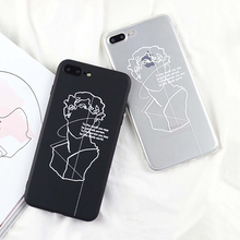 David Character Phone Case iPhone 5 5S SE 6 6S 7 8 Plus X