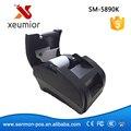 100% Calidad Puerto USB de Alta Velocidad 58mm Impresora Térmica de Recibos POS impresora de Bajo Ruido Mini Impresora, impresora Térmica