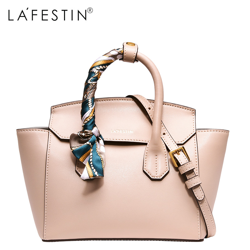 LAFESTIN Designer Scarves Handbag Luxury Real Leather Bag 2017 Fashion Lady Bags Shoulder brands Bag bolsa lafestin luxury shoulder women handbag genuine leather bag 2017 fashion designer totes bags brands women bag bolsa female