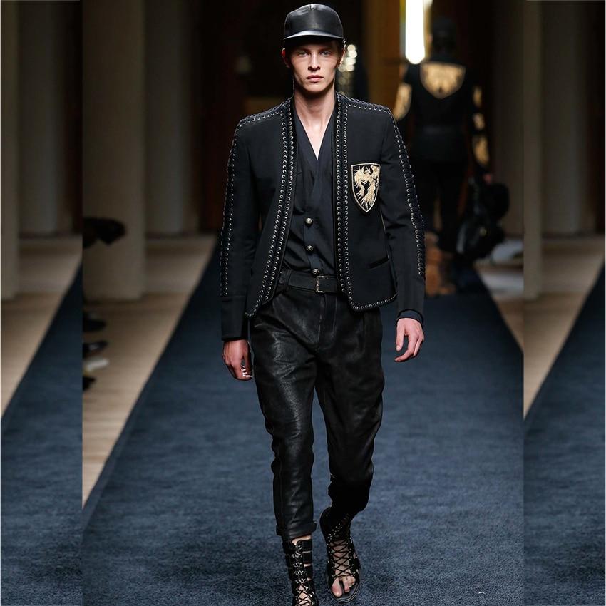 Paris Fashion 2017 Men 39 S Runway Designer Jacket Long