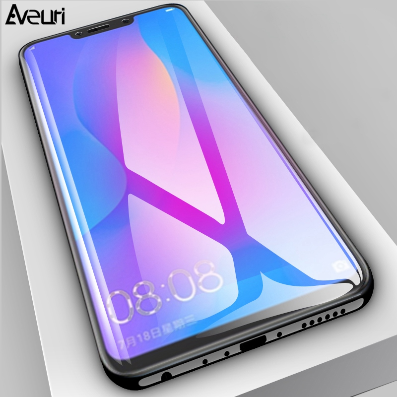Image 2 - Aveuri 3D Protective Glass For Huawei Nova 3 3i 2 2i Full Cover Tempered Glass For Huawei Nova 4 P Smart Plus Screen Protector-in Phone Screen Protectors from Cellphones & Telecommunications